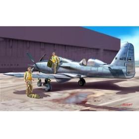 1/72 ベルTP-63E キングコブラ 複座練習機型 プラモデル[DORA WINGS]《在庫切れ》
