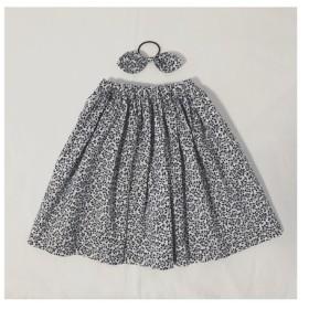 ふんわりスカート+リボンヘアゴム( 5)