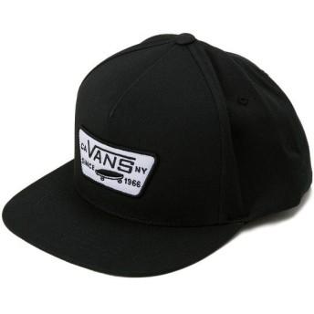 ヴァンズ キャップ VANSアパレル FULL PATCH SNAPBACK VN000QPU9RJ True Black