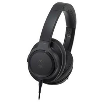 オーディオテクニカ ハイレゾ対応 ダイナミック密閉型ヘッドホン audio-technica ATH-SR50 返品種別A