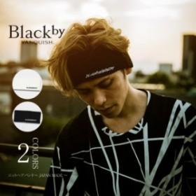 Black by VANQUISH【ブラックバイヴァンキッシュ】 bva196 ニットヘアバンド~JAPANMADE