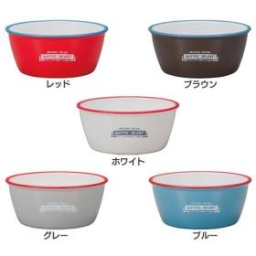 ボウル 食器 お皿 ホーロー風 樹脂製おしゃれ カラフル L 45-76856-3 正和 (D)(B)