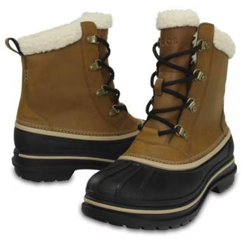 【クロックス公式】 オールキャスト 2.0 ブーツ メン Men's AllCast II Boot メンズ、紳士、男性用 ブラウン/茶 26cm,27cm,28cm,29cm boot ブーツ
