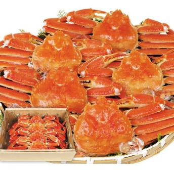 蟹 かに カニ 特大 ボイル ずわいがに 姿 3kg1組 冷凍便 食品 国華園
