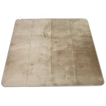 ラグ エラム(185×185cm/ベージュ)