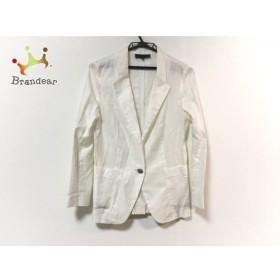 アンタイトル UNTITLED ジャケット サイズ2 M レディース 白 薄手               スペシャル特価 20191016