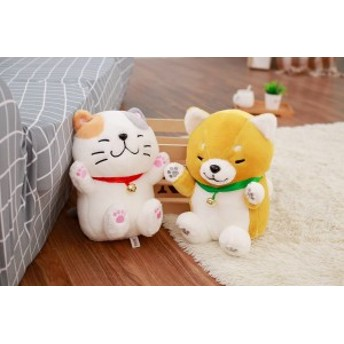 犬 ぬいぐるみ ラッキー ふわふわ もちもち かわいい抱き枕 子供 彼女 プレゼント 贈り物 誕生日30cm