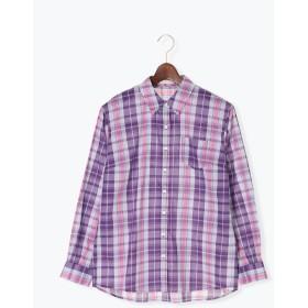 【6,000円(税込)以上のお買物で全国送料無料。】チェックレギュラーシャツ