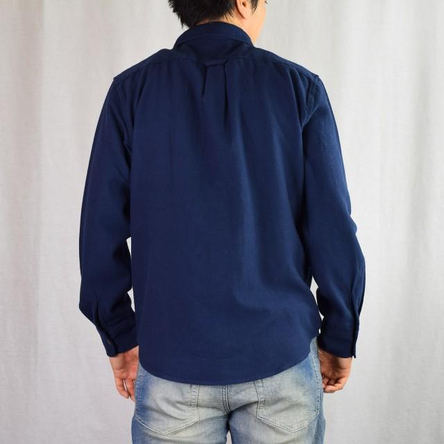 シャツ - NEVEREND カラーネル起毛 フェアアイルジャカードポケットシャツ 8341-706