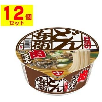 [日清食品]日清のどん兵衛 肉うどん(西)【1ケース(12個入)】