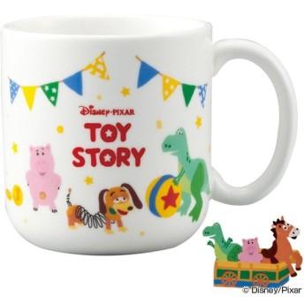 マグカップ 子供 トイストーリー コップ 磁器 食器 キャラクター ( 子供用食器 カップ 食洗機対応 マグ 電子レンジ対応 )