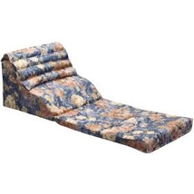 くつろぎテレビ枕/寝具 [幅45cm ] 日本製 折りたたみ 通気性 綿使用 高さ調整 背中・腰サポート機能 [リビング]