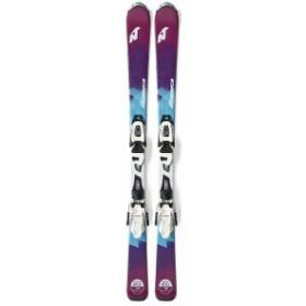 NORDICA(ノルディカ) 0A717700001/C7025 LITTLE BELLE FDT + JR4.5 金具付き ジュニア スキー板