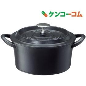 鋳物ホーロー両手鍋 ボンボネールココット 18cm ブラック 3619 ( 1コ入 )/ ボンボネール