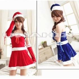 5400円以上お買上げで送料無料! レディース サンタクロース サンタ衣装 クリスマス/コスプレ
