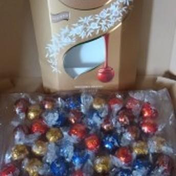 【リンツ リンドール チョコレート】★送料無料★ 600g 4種類たっぷり48個♪トリュフチョコ コストコ アソートパック