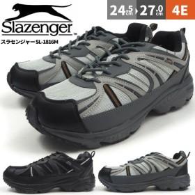 防水スニーカー メンズ スラセンジャー Slazenger SL-1816M 紐タイプ カジュアルシューズ
