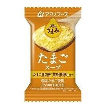 [まとめ買い]アマノフーズ Theうまみ たまごスープ 11g(フリーズドライ) 60個(1ケース)