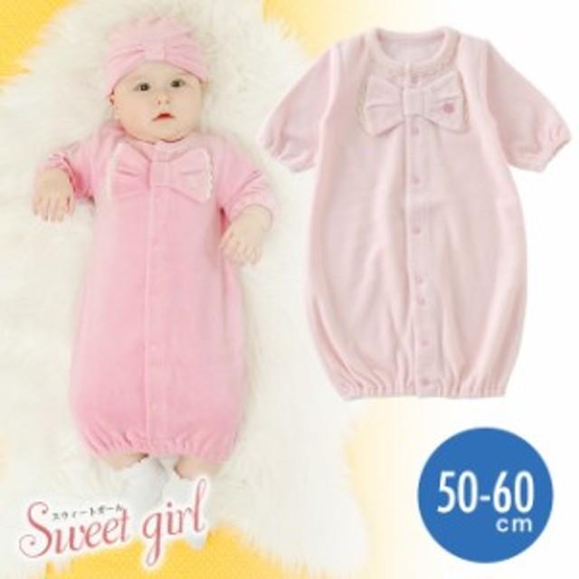 d192323af1d68d スウィートガール長袖ツーウェイオール[ベビー服][赤ちゃん][ベビー][ツーウェイ