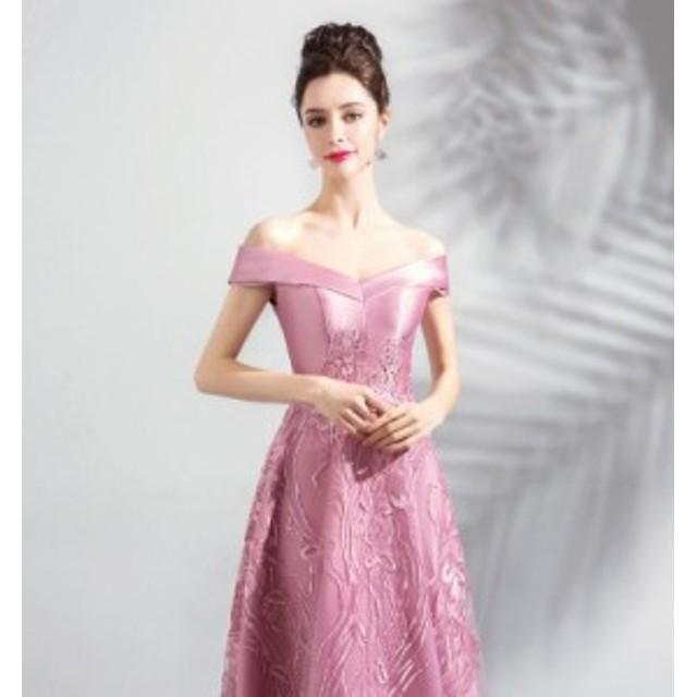 0e3b45e5823e0 高品質 ロングドレス パーティードレス 舞台ドレス 舞台衣装 可愛いドレス ♪二次会 発表会