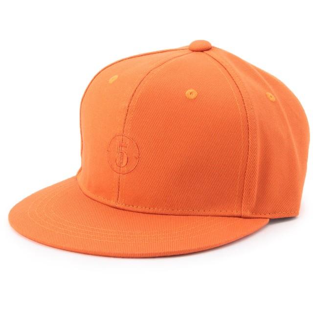 タケオ キクチ TAKEO KIKUCHI W & Pナンバリングキャップ帽子 (オレンジ)