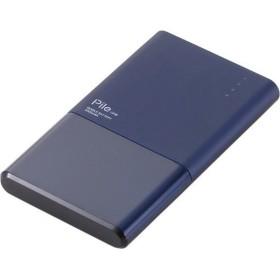 【在庫目安:お取り寄せ】 ELECOM DE-M05-N3015BU モバイルバッテリー/ リチウムイオン電池/ おまかせ充電対応/ Pile one/ 3000mAh/ 1.5A/ P…