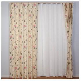 【送料無料!】日本の昔話カーテン ドレープカーテン(遮光あり・なし)