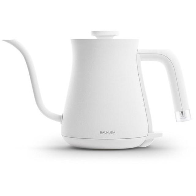 【新品訳あり(欠品あり)】 BALMUDA 電気ケトル The Pot K02A-WH ホワイト 欠品あり