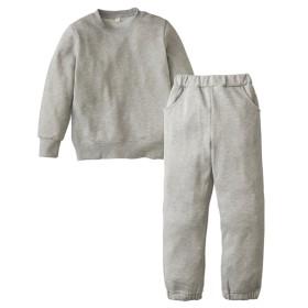 無地スウェット上下セット(男の子。女の子 子供服。ジュニア服) キッズパジャマ