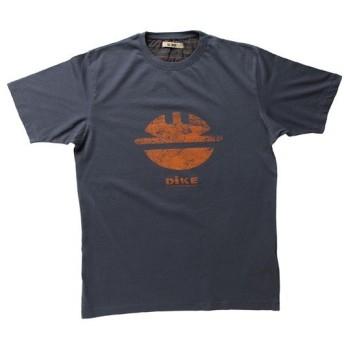 DIKE(ディーケ/アパレル):Tシャツ タイディ チャコール XS 92131/800-XS