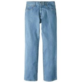 ヘインズ(Hanes) ストレッチ5ポケットジーンズ(股下75cm) 大きいサイズメンズ ストレートジーンズ(デニム)