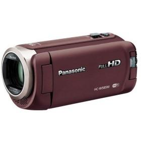 パナソニック デジタルビデオカメラ 64GB フルハイビジョン ワイプ撮り 軽量モデル HC-W585M-T ブラウン(4549077894588)