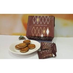 《聖比徳》珈琲黒糖牛軋餅-30入- 《台湾 お土産》