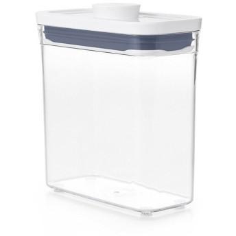 OXO POP2スリムレクタングル ショート 保存容器 プラスチック 1.1L