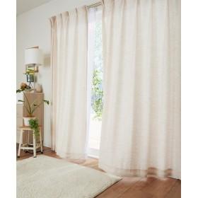 【送料無料!】ナチュラル刺繍カーテン ドレープカーテン(遮光あり・なし) Curtains, 窗, 窗簾