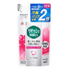 花王 リセッシュ 除菌EX ピュアソープの香り つめかえ用 (320mL) 詰め替え用 衣類・布製品・空間用消臭剤