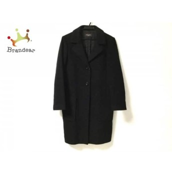 ドゥクラッセ DoCLASSE コート サイズ9 M レディース 黒 冬物/collection 値下げ 20190604【人気】