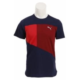 プーマ(PUMA)【オンライン限定特価】グラフィック Tシャツ 517515 02 NVY (Men's)