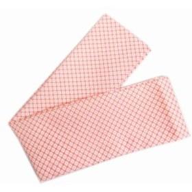 和柄伊達締め伊達〆赤ピンク地かのこ柄 和装着物振袖成人式浴衣着付け小物