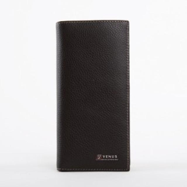 be3d8874d13e 長財布 本革 牛革 ブラック メンズ レディース 男女兼用 シンプルデザイン 高級 上質 30代