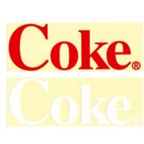 コカコーラ ステッカー グッズ アメリカン 車 おしゃれ 転写 カッティングステッカー かっこいい Coke_SC-CCCDS2-LFS