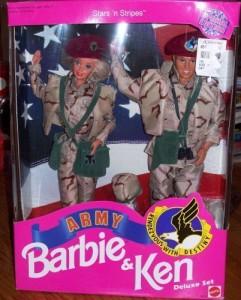 Barbie Army Special Edition Bambole E Accessori Bambole Fashion