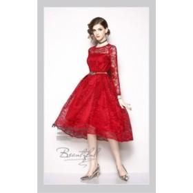 厳選 レース 結婚式 ドレス お呼ばれ ワンピース 20代 30代 40代 パーティードレス 二次会 大きいサイズ 親族 演奏会 フォーマル キャバ