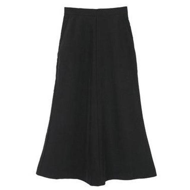 ユアーズ ur's マーメイドマキシスカート (ブラック)