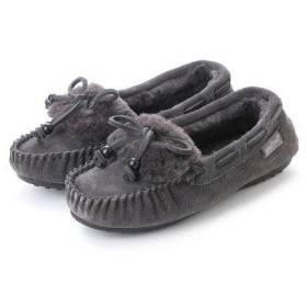 ミネトンカ Minnetonka KYRA SLIPPER 40686 (CHR GREY)