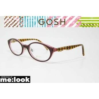 GOSH ゴッシュ 国内正規品 ジュニア 子供用 メガネ フレーム GOS078-3-46 度付可 パープル