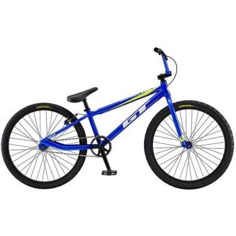 【キャッシュレス5%還元対象店】GT キッズ 子供用自転車 MACH ONE PRO 24 M ブルー 2019