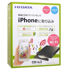 I-O DATA アイ・オー・データ CDレコ Wi-Fi CDRI-W24AI