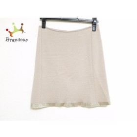 ブルマリン BLUMARINE スカート サイズ40 I レディース グレーベージュ ニット             スペシャル特価 20190522【人気】
