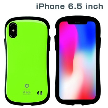 iPhone XS Max 6.5インチ専用iFace First Class Standardケース(グリーン) 41-897089